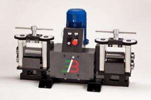 laminatoio elettrico automatico velocità variabile larghezza 130 mm